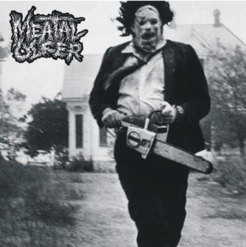 BLP 310 MEATAL ULCER / DECOMPOSING SERENITY - Split CD