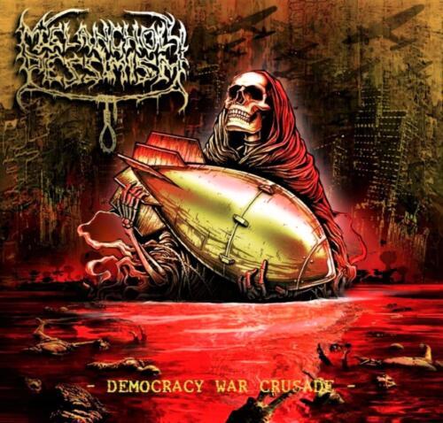 """BLP 279 MELANCHOLY PESSIMISM - Democracy War Crusade 12""""LP"""