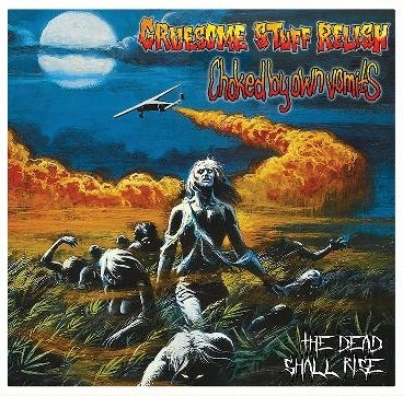 BLP 238 GRUESOME STUFF RELISH / CHOKED BY OWN VOMITS - Split CD