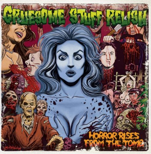 BLP 232 GRUESOME STUFF RELISH - Horror Rises From The Tomb