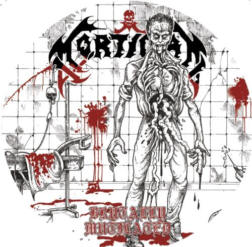 BLP 306 MORTICIAN - Brutally Mutilated PICTURE 7″EP