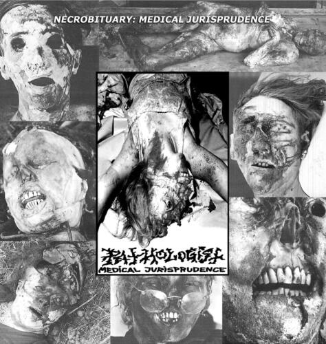 BLP 286 PATHOLOGIST - Necrobituary: Medical Jurisprudence Return To Demo Era 1991 12″LP