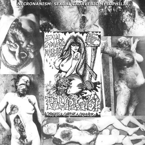 "BLP 280  PATHOLOGIST - Necronanism: Sexual Cadaveric Mysophilia 12""LP"