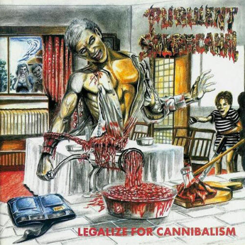 BLP 312 PURULENT SPERMCANAL - Legalize For Cannibalism CD